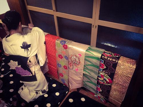 Saori Mochizuki キモノゾメ 着付け 和服