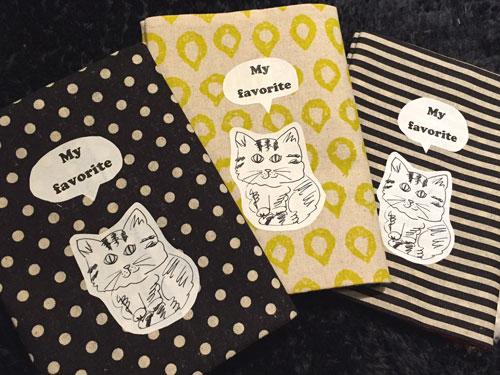 Saori Mochizuki SO Lovely 猫のブックカバー