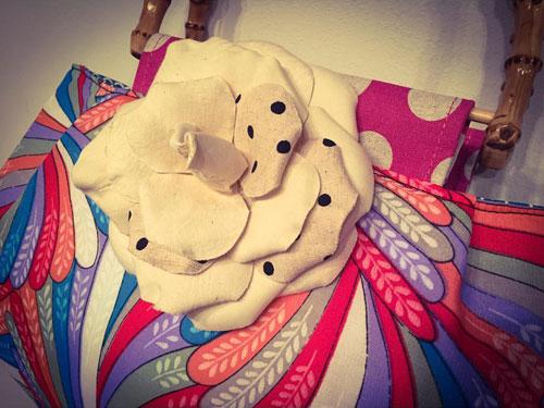 Saori Mochizuki 望月沙織 サオリモチヅキ 水玉バッグ