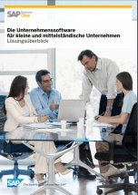 Folheto SAP Business One