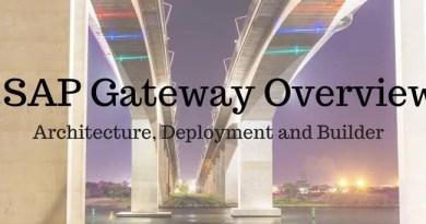 SAP Gateway Overview : SAP GW Architecture, Deployment and Builder