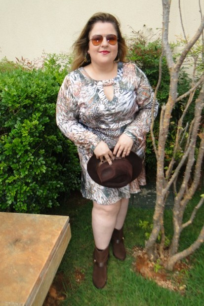 Look: boho da Inove Plus Size