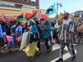 """Million People's March"" July 2015 (Photo:` Donna Auston)"