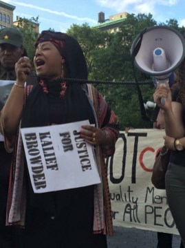 """""""Rally for Kalief Browder"""" Union Square, NYC (Photo: Donna Auston)"""