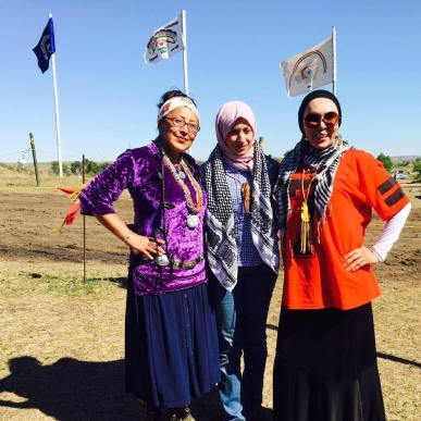 women at standing rock