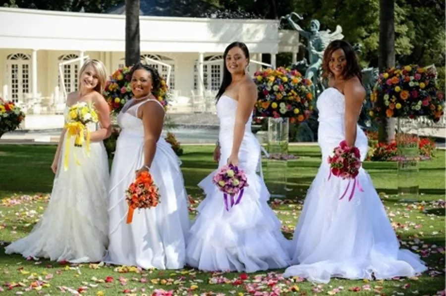 VIDEO: When 3 Brides Discover The 4th Is Having A Township