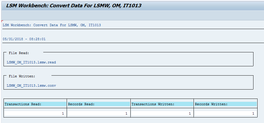 Step-by-step SAP LSMW User Guide