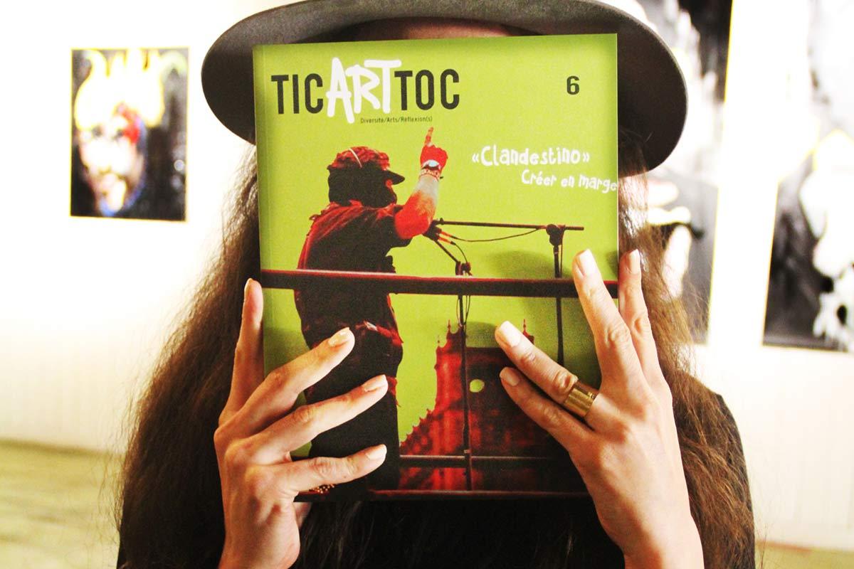 Lancement du No6 de Tic Art Toc