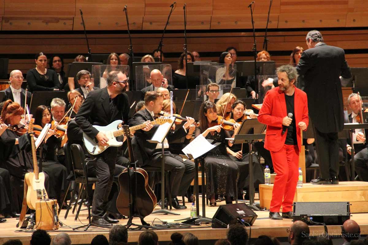 Hommage à Gainsbourg, Arthur H, Francofolies de Montréal 2016 - Photo Franck Billaud -Saphir Optimiste