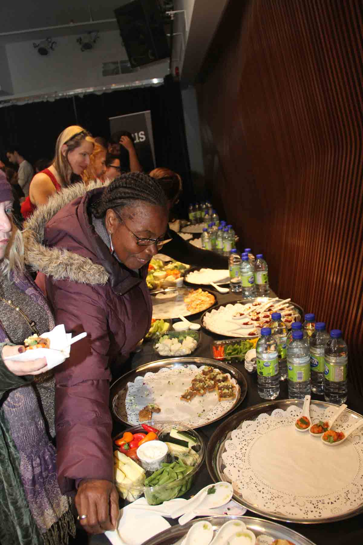 Un buffet qui a eu beaucoup de succès