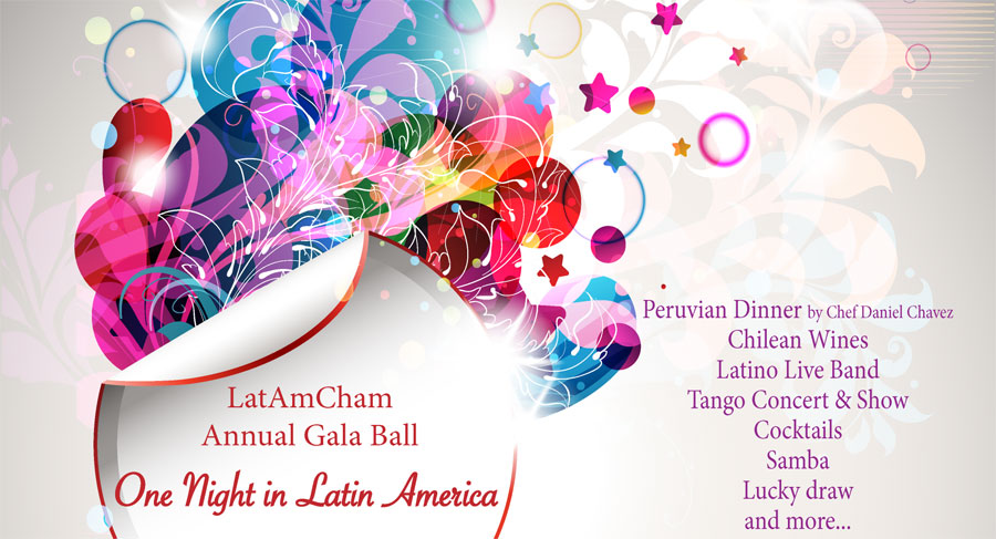 "LatAmCham Annual Gala Ball ""One Night in Latin America"""