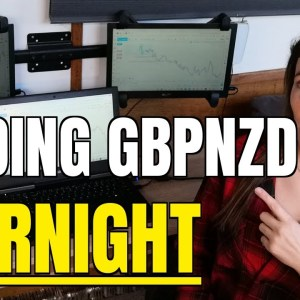 +3% GBPNZD  Trade Recap | Simple Forex Day Trading Strategy (1 hour)