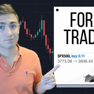 Forex Trading Live: Up +$696.85 Riding a Winner!