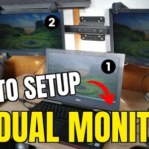 How To Setup Dual Monitors With Laptop for Trading (Super Simple!)