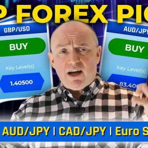 This week's TOP forex picks: GBP/USD, AUD/JPY & more! (+ MARKET EVENTS)