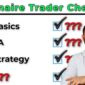 8 Things You Must Do Your First Year Trading To Make Money... (Millionaire Trader Checklist)