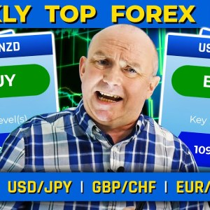 This Week's TOP 5 Forex Pairs: USD/JPY, GOLD & more! (+ MARKET EVENTS)