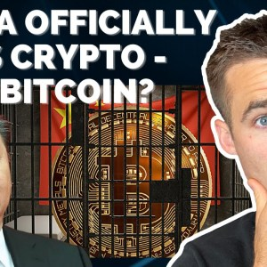China Officially Bans Crypto | Time To Buy Or Sell Bitcoin?