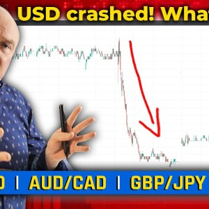 USD crashed! What now?! Discussing XAU/USD, GBP/JPY & More! (Forex Forecast)