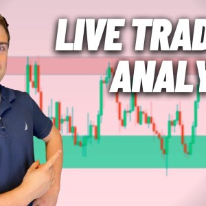 Live Forex Trading: New York Session   Euro Moves Big, Is GBP a Sell?