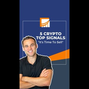 5 Crypto Top Signals - It Might Be Time To Sell Your Crypto #shorts