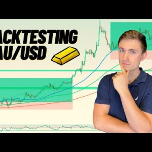 Best Gold Trading Strategy? Backtesting a XAU/USD Trend Trading Strategy!