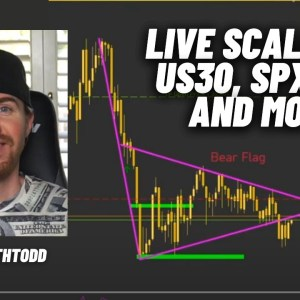 LIVE Forex Scalping with Todd: US30, NAS100, and More!