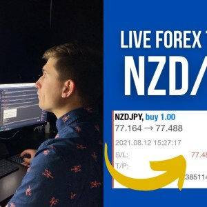 Swing Trading NZD/JPY for +$291.93 | Live Forex Trading