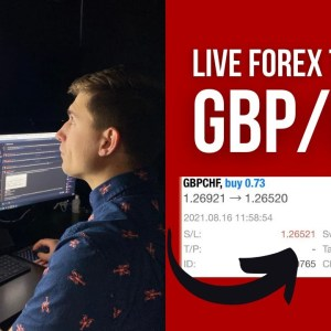 Watch Me Trade GBP/CHF! (And get crushed...) | Live Forex Trading