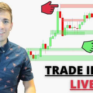 Live Forex Trading: New York Session | Time to Buy GBP Pairs?