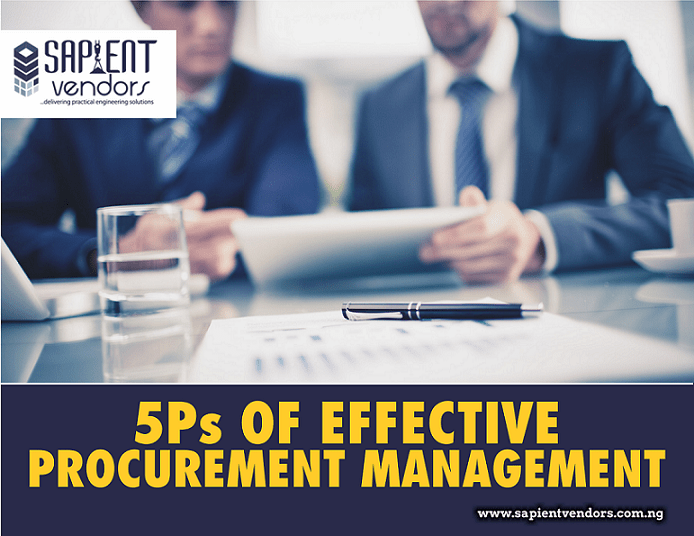 5Ps of Effective Procurement Management