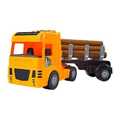 camion con palos