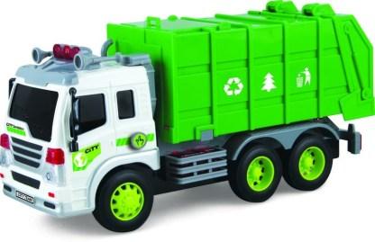camion de basura luces y sonido