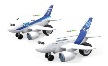 avion luces y sonido