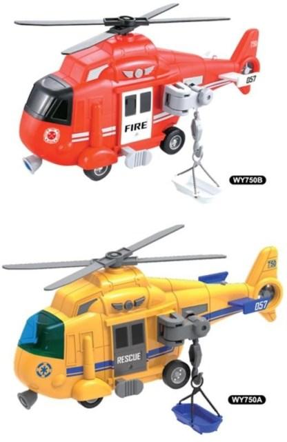 helicoptero luces y sonido