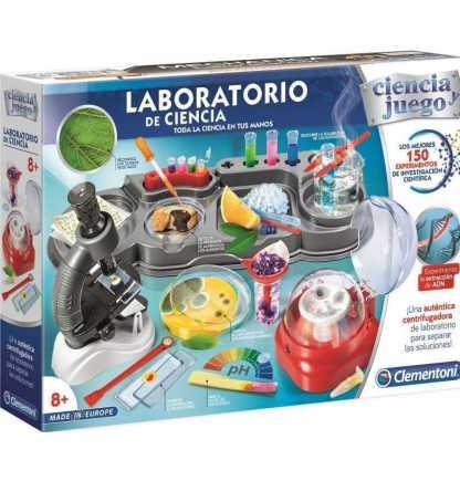 gran laboratorio ciencia experimentos