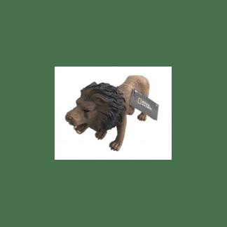 ANIMALES SALVAJES 30CM LEON