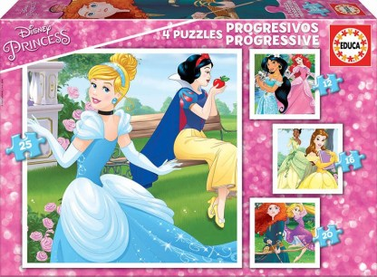 PROGRESIVOS PRINCESAS DISNEY