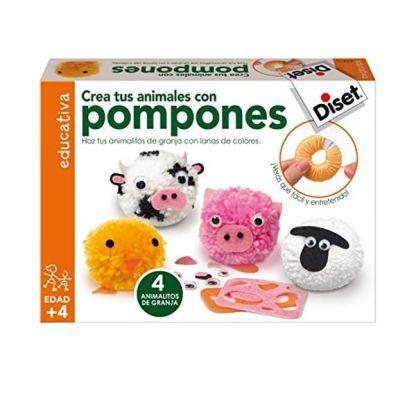 Crea tus animales con pompones