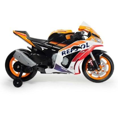 moto honda repsol marc marquez 12v con luces y sonido 2