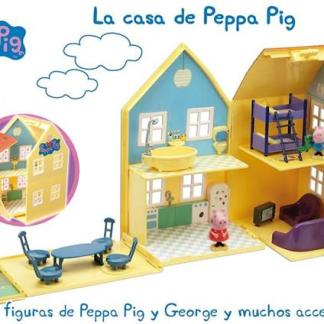 CASA DE PEPPA PIG CON ACCESORIOS