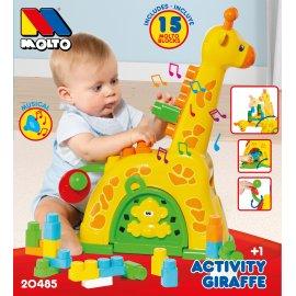 molto jirafa actividades 25 pzas