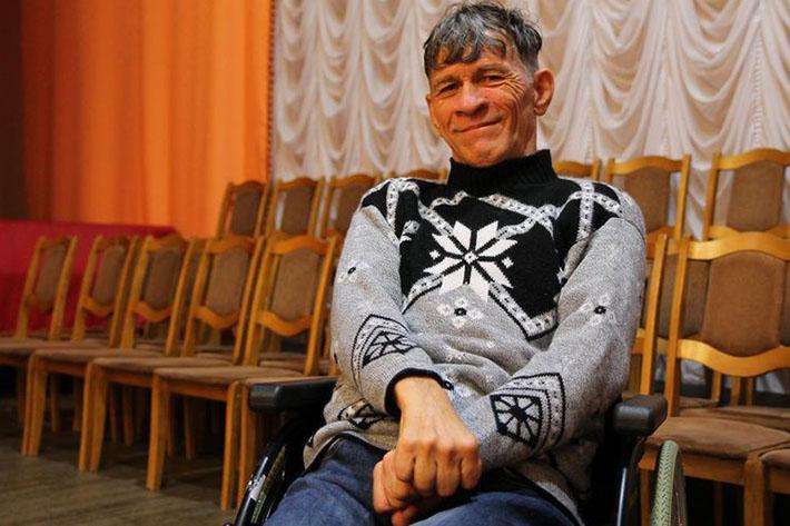 Сергей Сапоненко в колледже