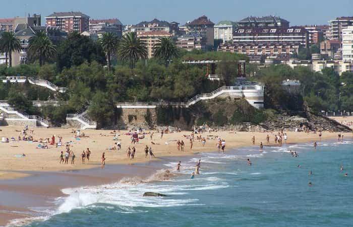Las Playas del Sardinero en Santander   Turismo en Cantabria