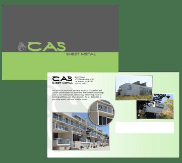 CAS Postcard (Front & Back)