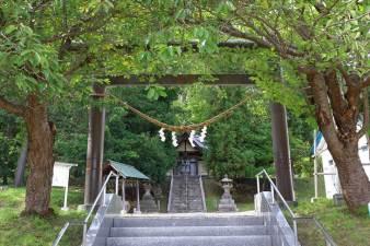 藻岩神社 鳥居と参道
