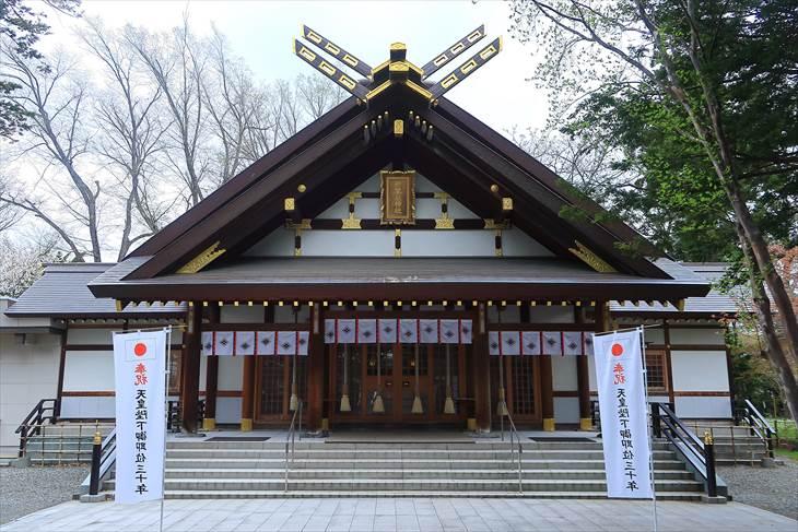 新琴似神社 本殿