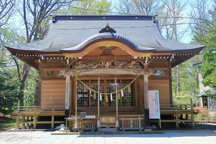 相馬神社 本殿