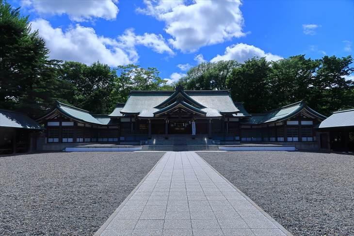 札幌護国神社 本殿