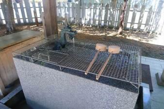 北海道神宮頓宮 手水舎